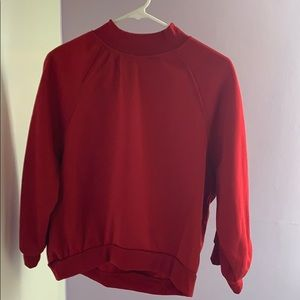 Sweaters - small red turtle neck sweater